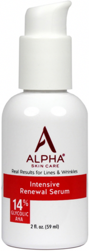 Alpha Skin Care S Intensive Rejuvenating Serum Is A Potent Concentrated Formula With 14 Glycolic A In 2020 Intensive Renewal Serum Skin Tightening Stomach Skin Bumps