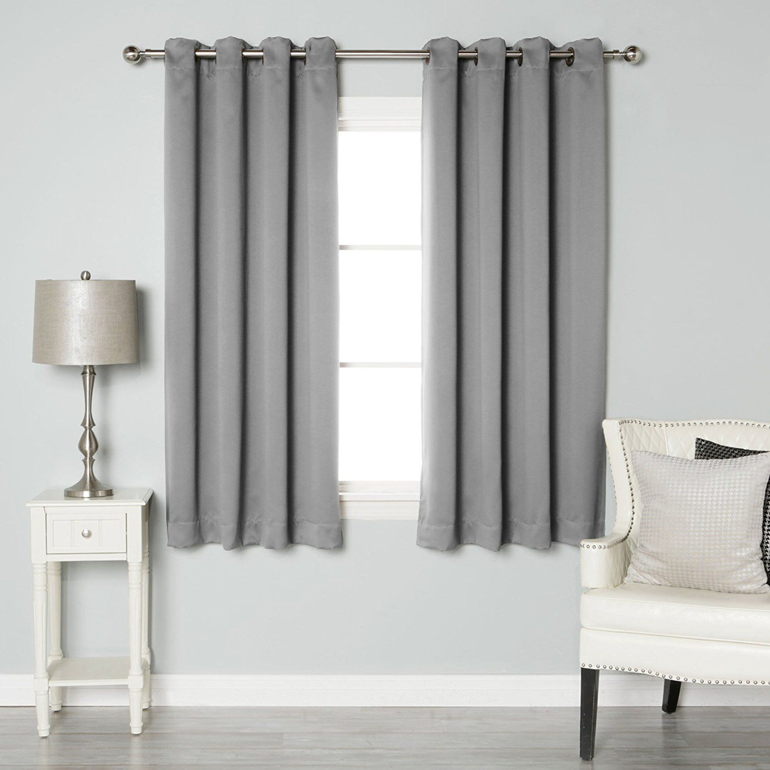 Best Home Fashion Thermal Insulated Blackout Curtains Antique