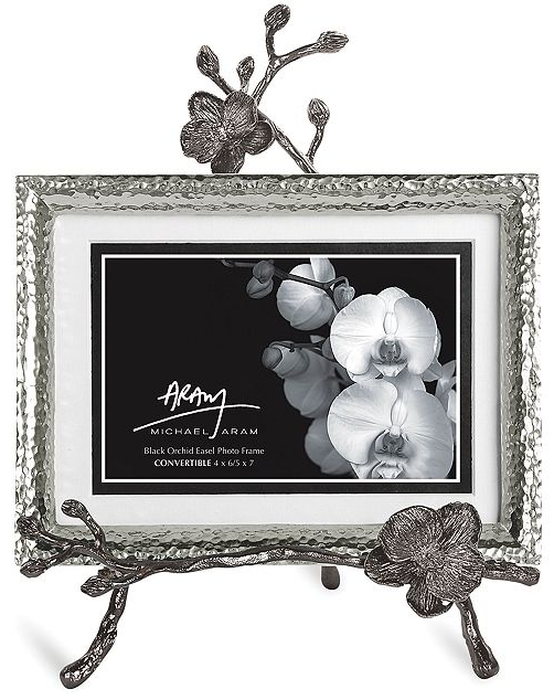 Michael Aram Black Orchid Easel Frame | Black orchid and Catalog