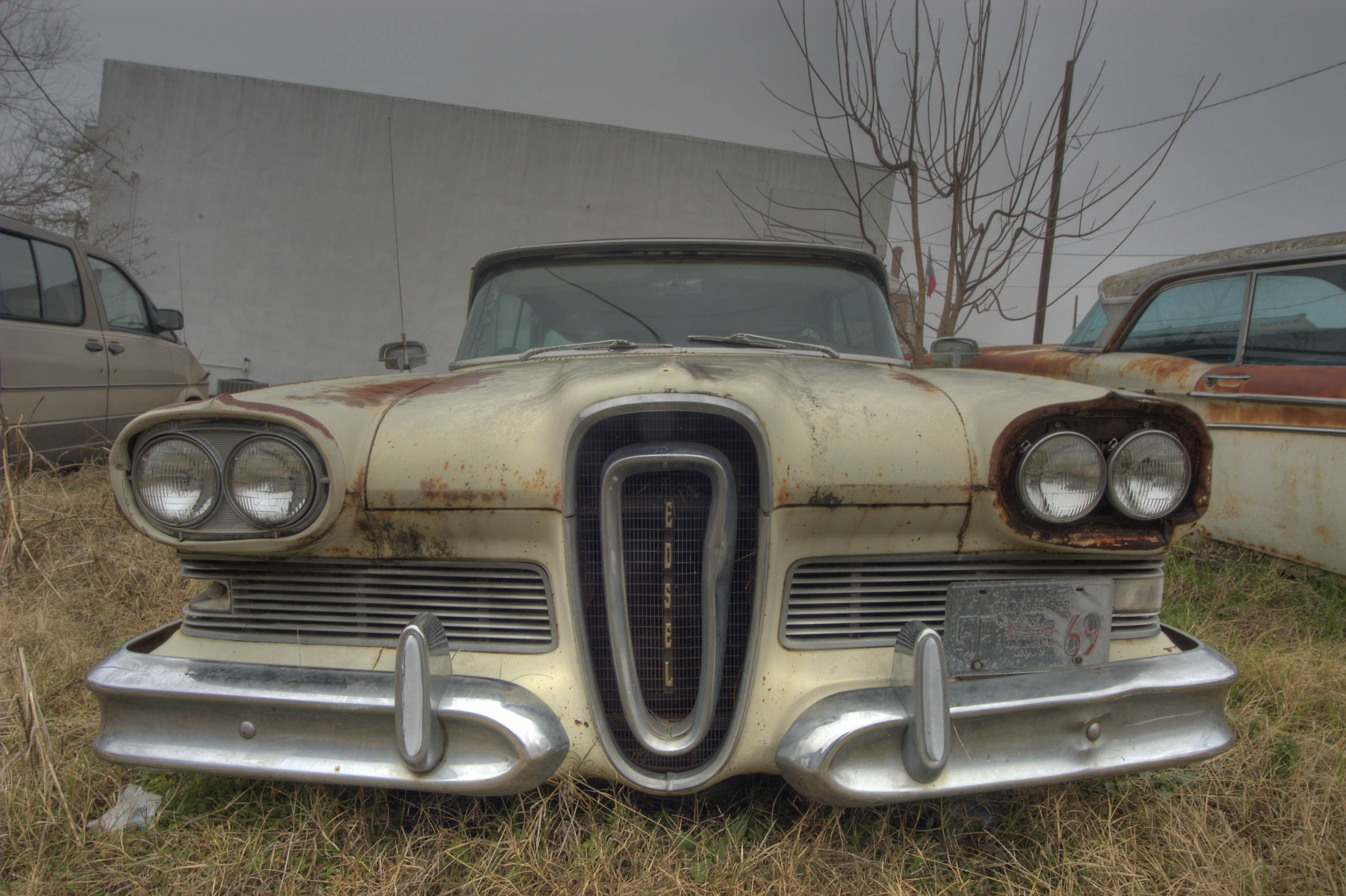 Image detail for -Vintage Edsel car near South Main Street. Anderson ...