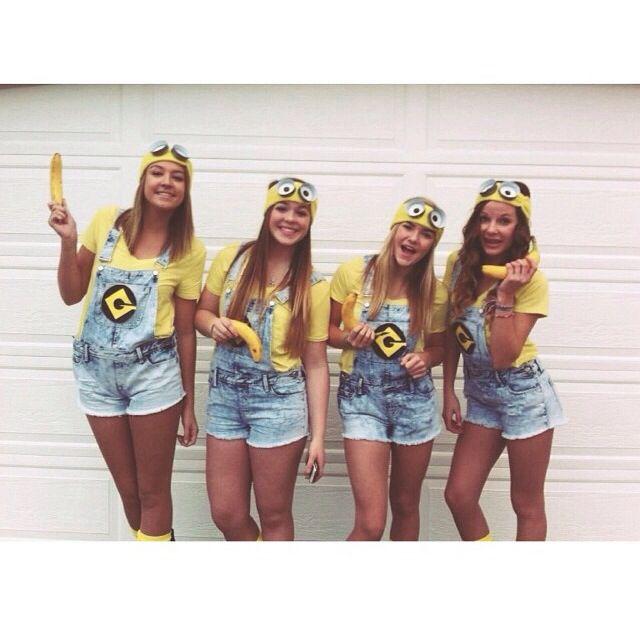 Minions for Halloween. @Bethany Mota  sc 1 st  Pinterest & Minions for Halloween. @Bethany Mota | Stuff | Pinterest | Bethany ...