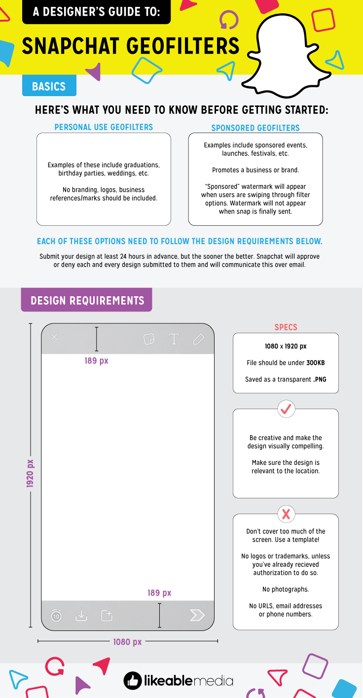 a designer u0026 39 s guide to snapchat geofilters