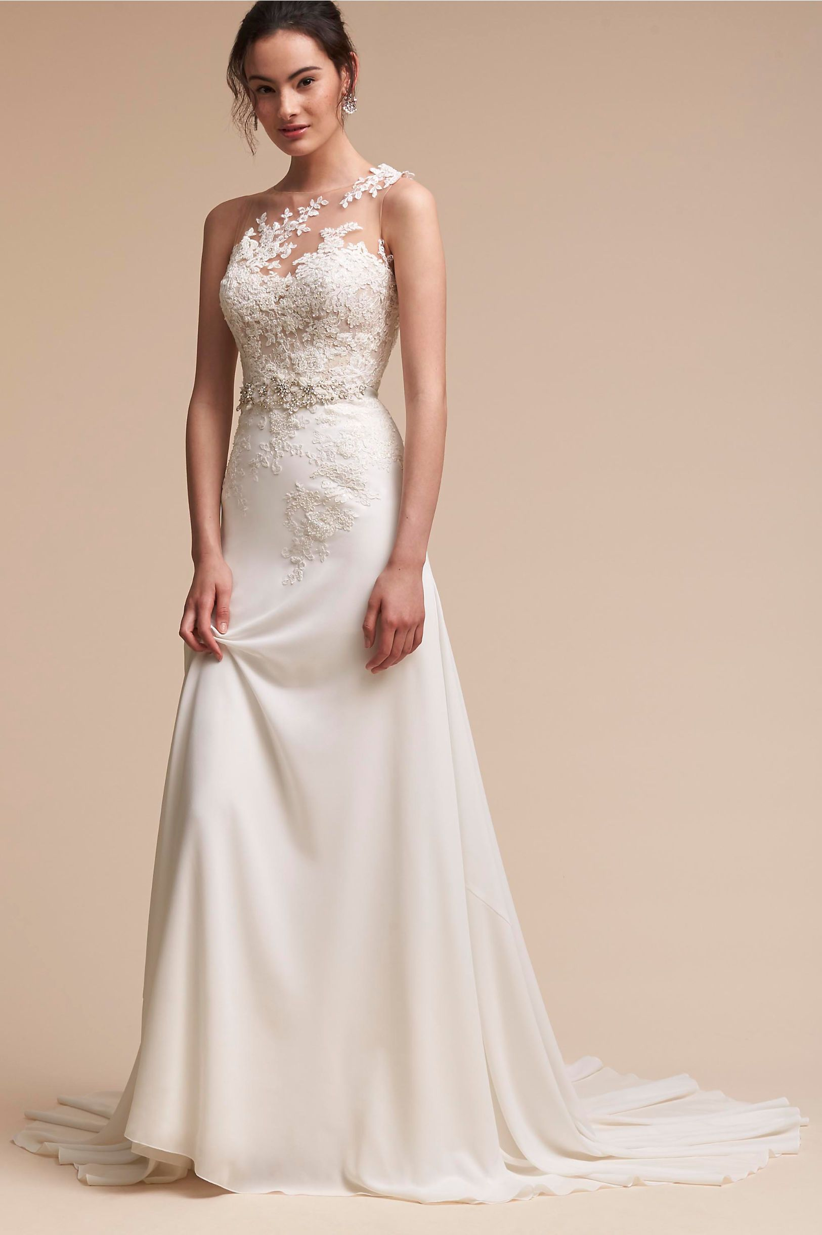 15 prettyperfect wedding dresses under 1500 bhldn gowns and