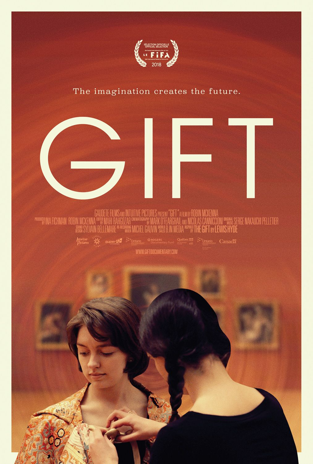 Gift movie poster by wwwkeyartca graphicdesign design