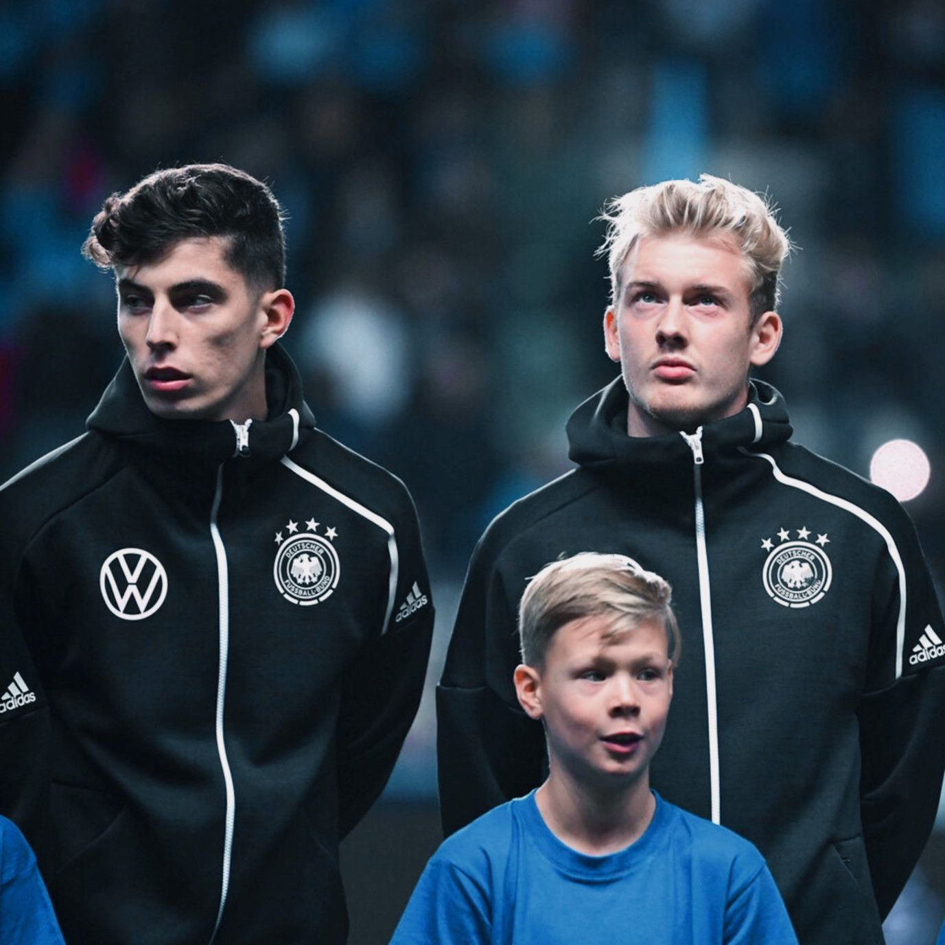 Face To Face Kai Havertz Julian Brandt Football Boys Football Players