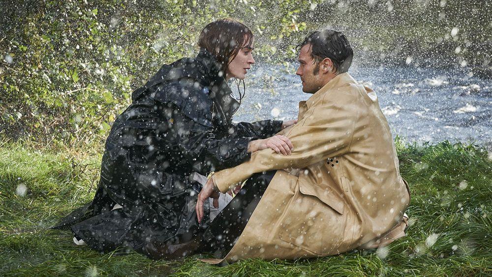 First Look Emily Blunt And Jamie Dornan Star In Wild Mountain Thyme Exclusive Emily Blunt Jamie Dornan John Patrick Shanley
