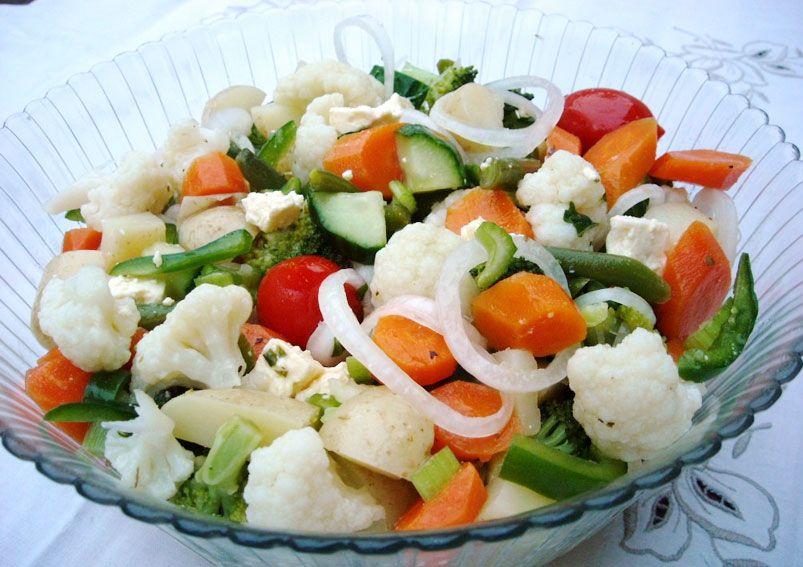 Mixed Vegetable Salad Recipe MixedVegetable