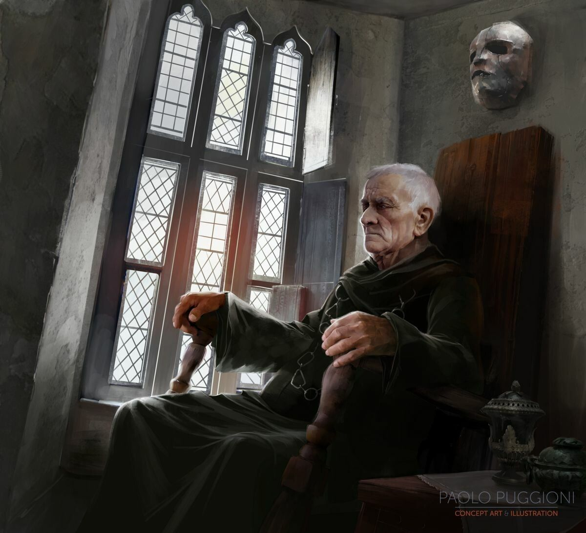 Game of Thrones - Maester Gormon by Paolo PuggioniThere's a whole bunch of  Game of Thrones artw…   Game of thrones maester, Game of thrones, Game of thrones  artwork
