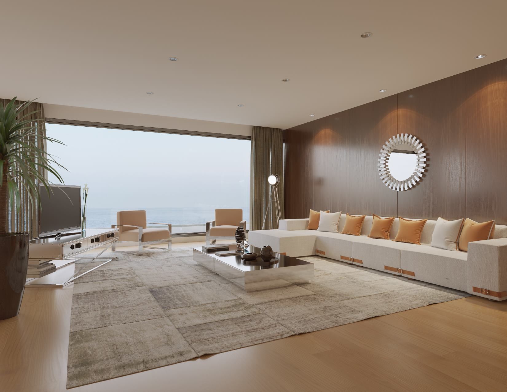 Modani Furniture 2016 Catalog Elegance Collection Livingroom