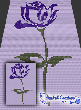 A rose is a rose c2c twin sized blanket crochet pattern pdf a rose is a rose twin sized blanket crochet pattern includes a full size color with symbols graph and written instructions dt1010fo