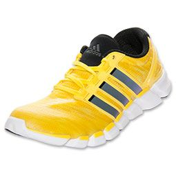 adidas yellow running trainers
