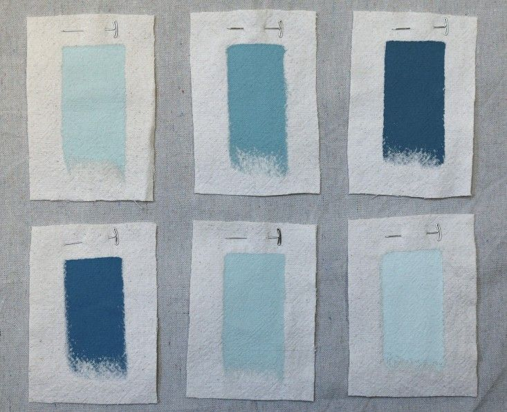 Palette Amp Paints Coastline Inspired Blues Interior