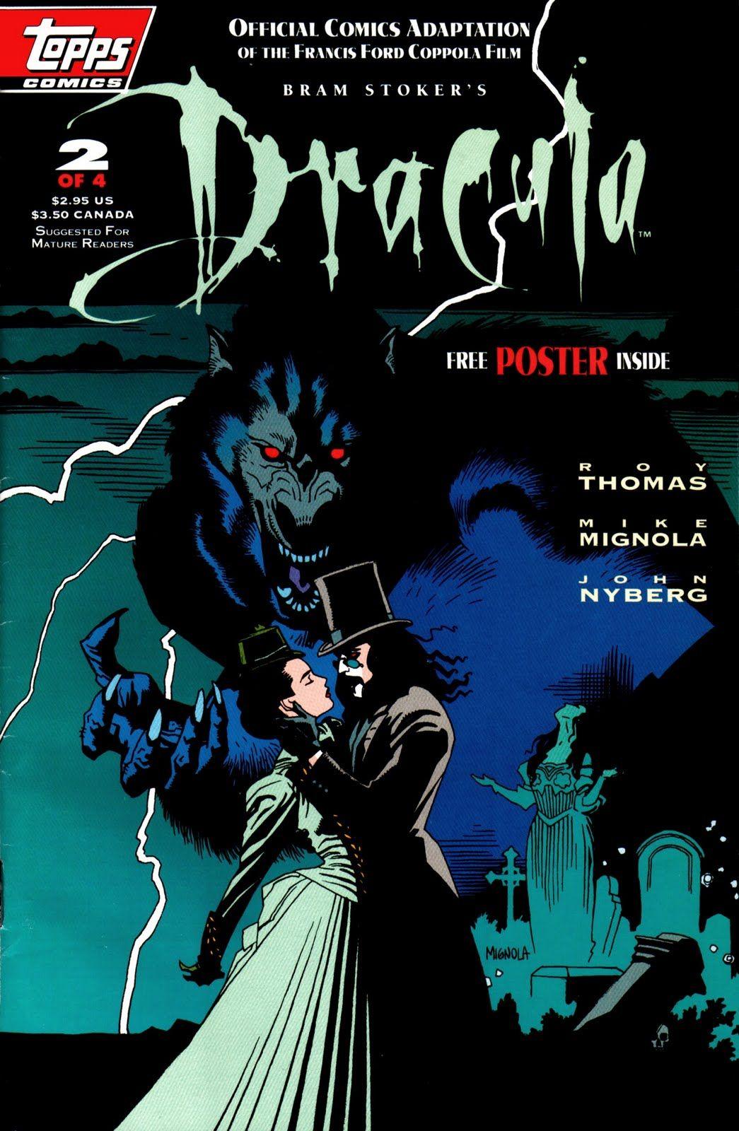 Bram Stoker's Dracula 2/4 by Mike Mignola