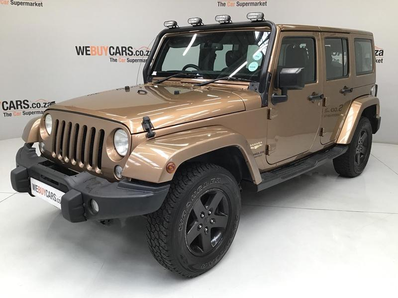 Jeep Wrangler Unlimited 3 6l Sahara For Sale In Milnerton Id