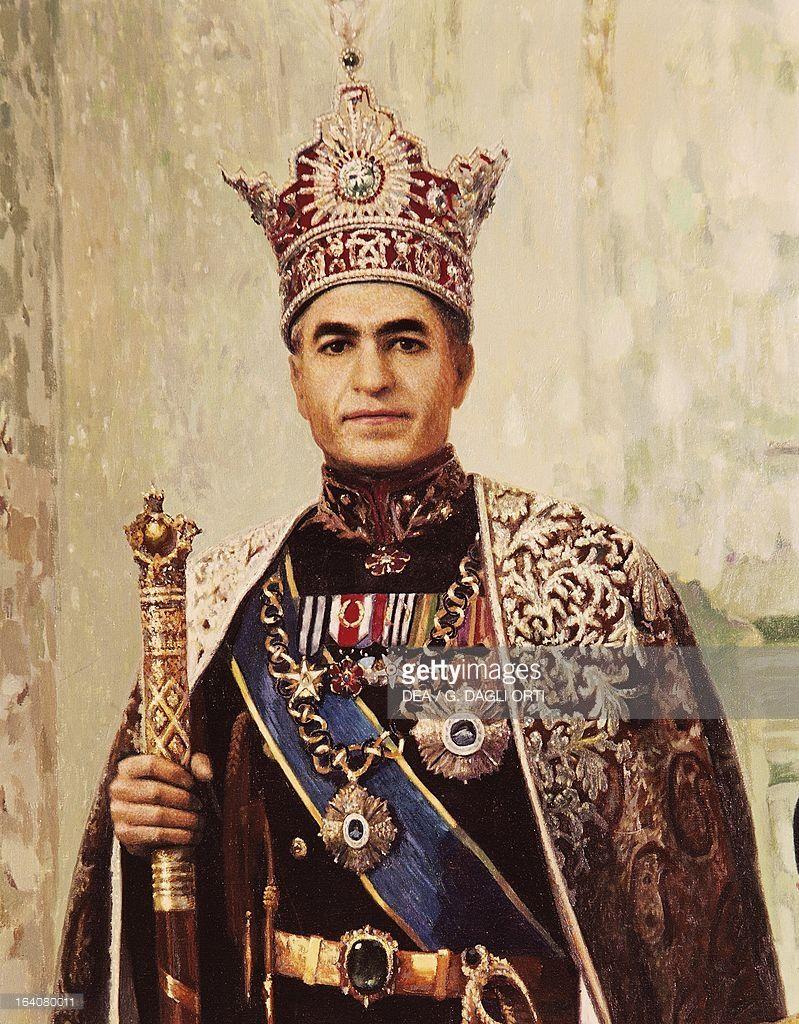 Resultado de imagen para Fotos del shah Mohammad Reza Pahlaví