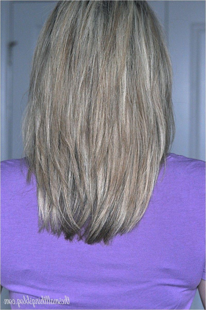 long layered hair view