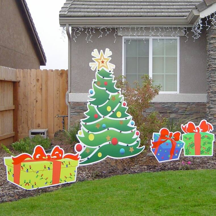 Cheap Christmas Lawn Decorations