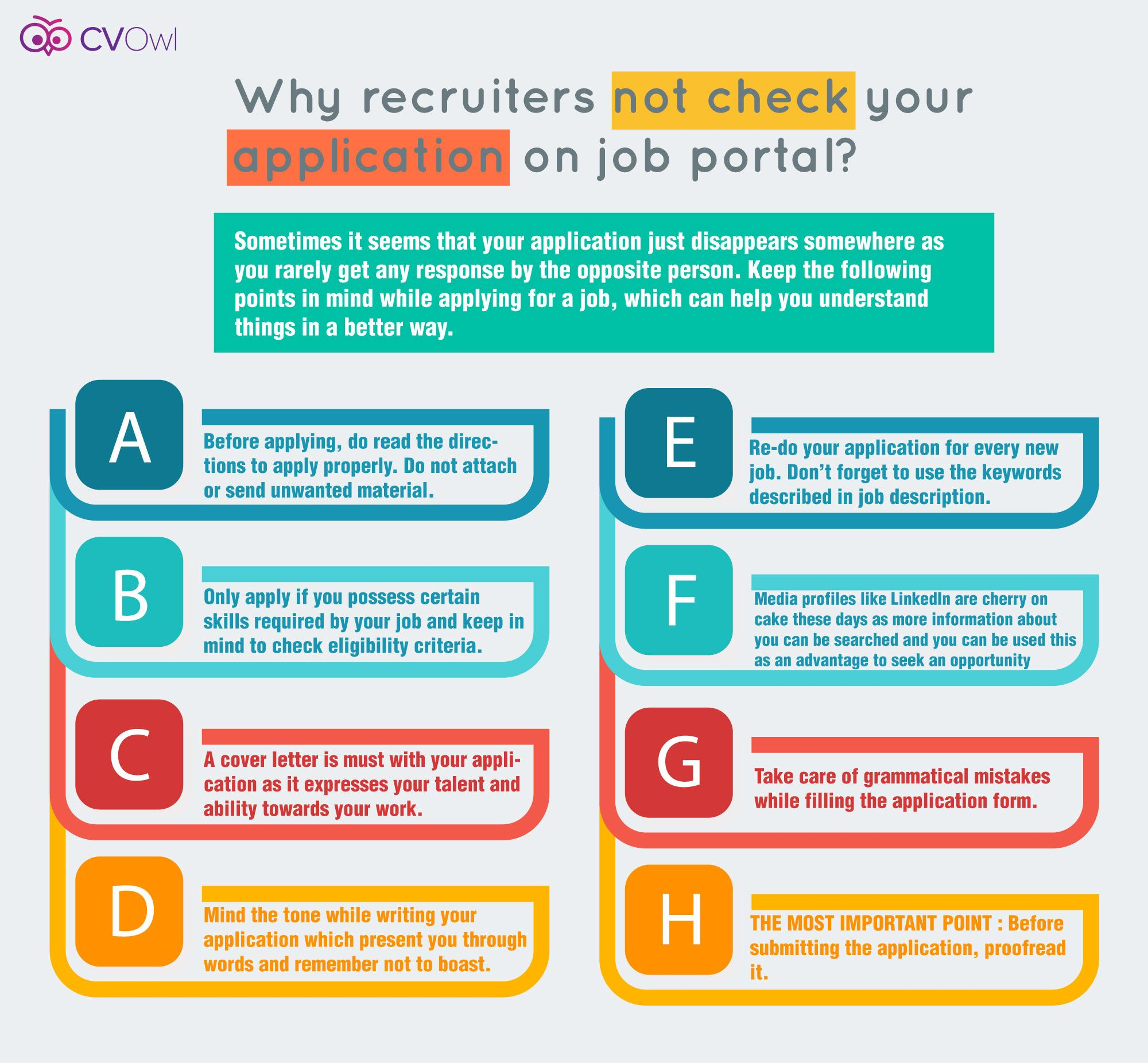 Why Recruiters Not Check Your Application On Job Portal Jobportal