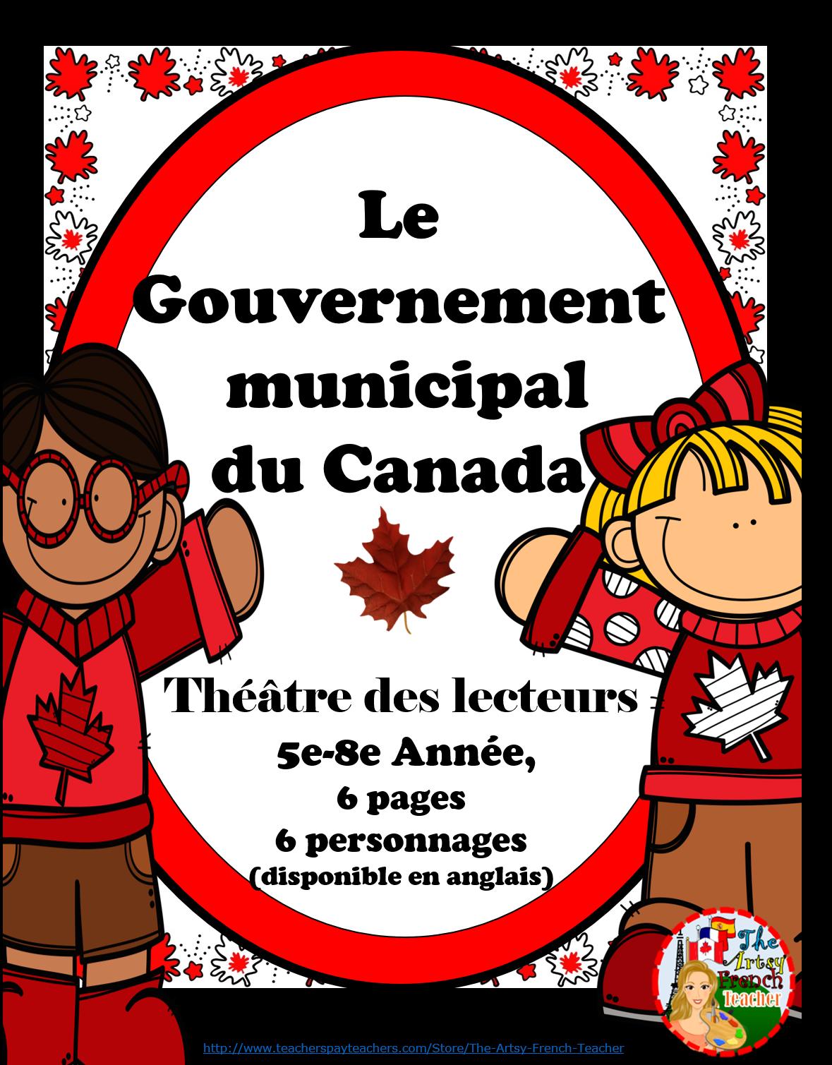 gouvernement municipal du canada