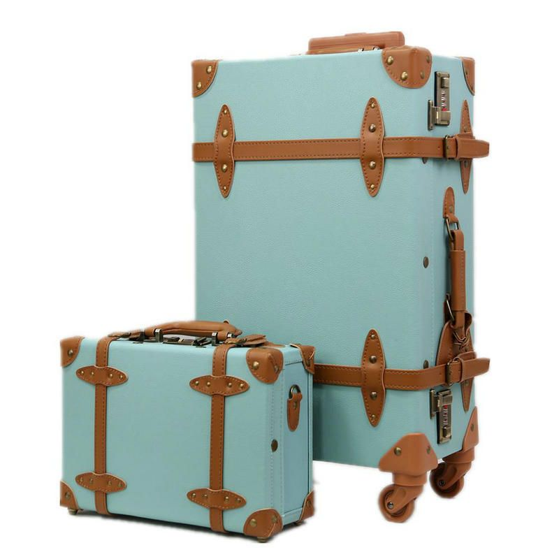 Find More Information about Fashion Women Travel Suitcase PU ...