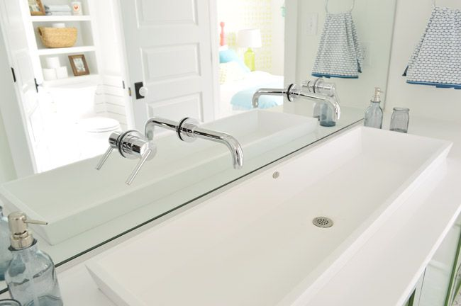 Our Showhouse Bathroom Sink Bowls Trendy Bathroom Show Home