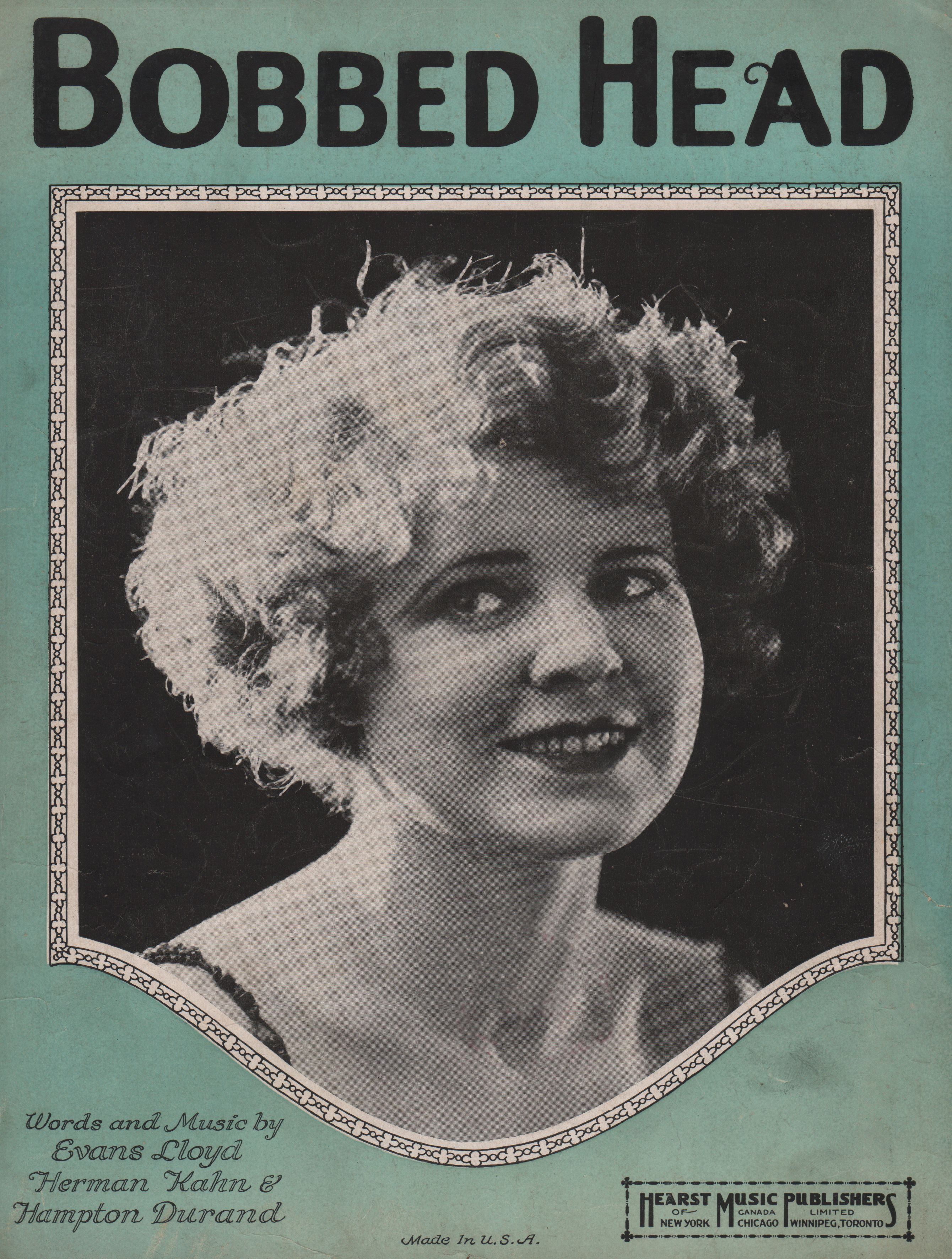 new woman of the 1920s: debating bobbed-hair from history
