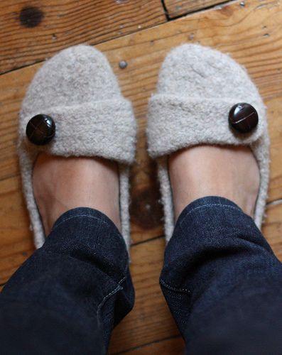 les 25 meilleures id es de la cat gorie pantoufles en feutre sur pinterest chaussures en. Black Bedroom Furniture Sets. Home Design Ideas