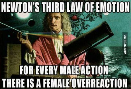 Newton was a wise man... Am I right?