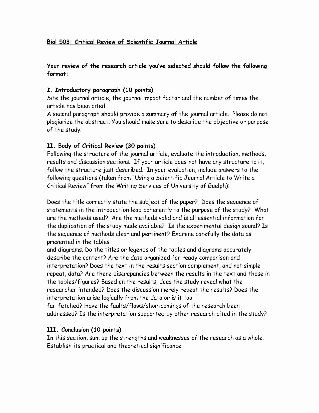 Journal Article Summary Example New Critical Critique Article Review Pinterest Scientific Journal Articles Cover Letter For Resume Introductory Paragraph