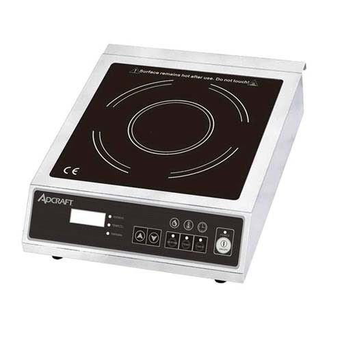Adcraft Ind E120v Countertop Induction Cooker Range 120v 1800w