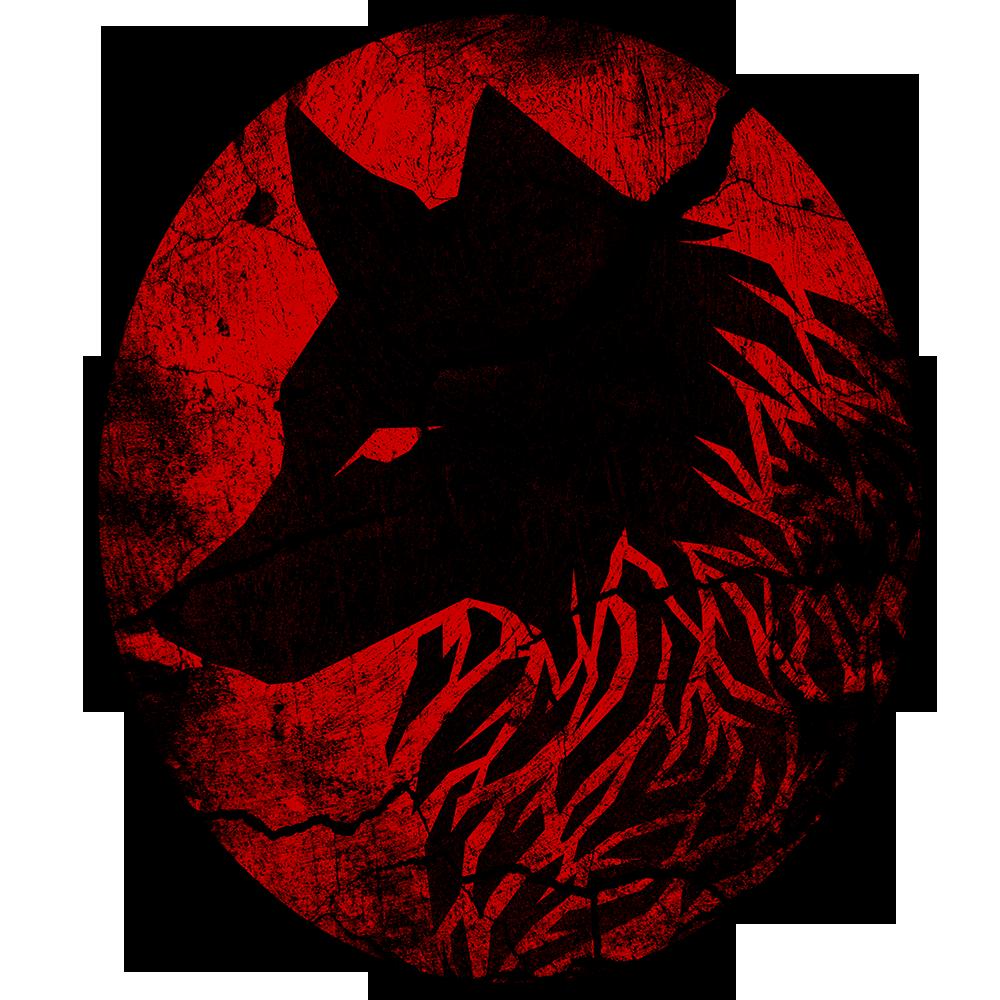 Wolf draft 3. RED Dia de muertos, Terciopelo rojo, Rojo