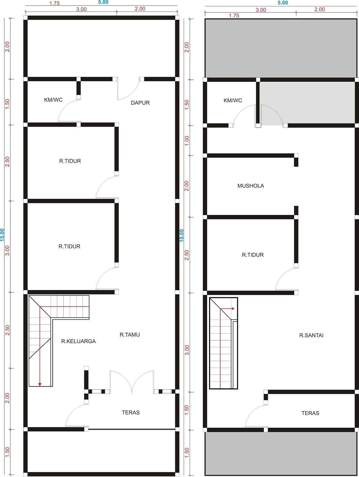 Desain Rumah Memanjang : desain, rumah, memanjang, Desain, Rumah, Minimalis, Memanjang, Belakang, Minimalis,