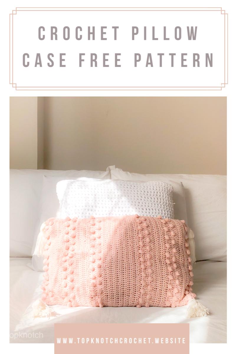 Crochet Pillow Case Free Pattern : Crochet Pillow Case free pattern. This pillow is so