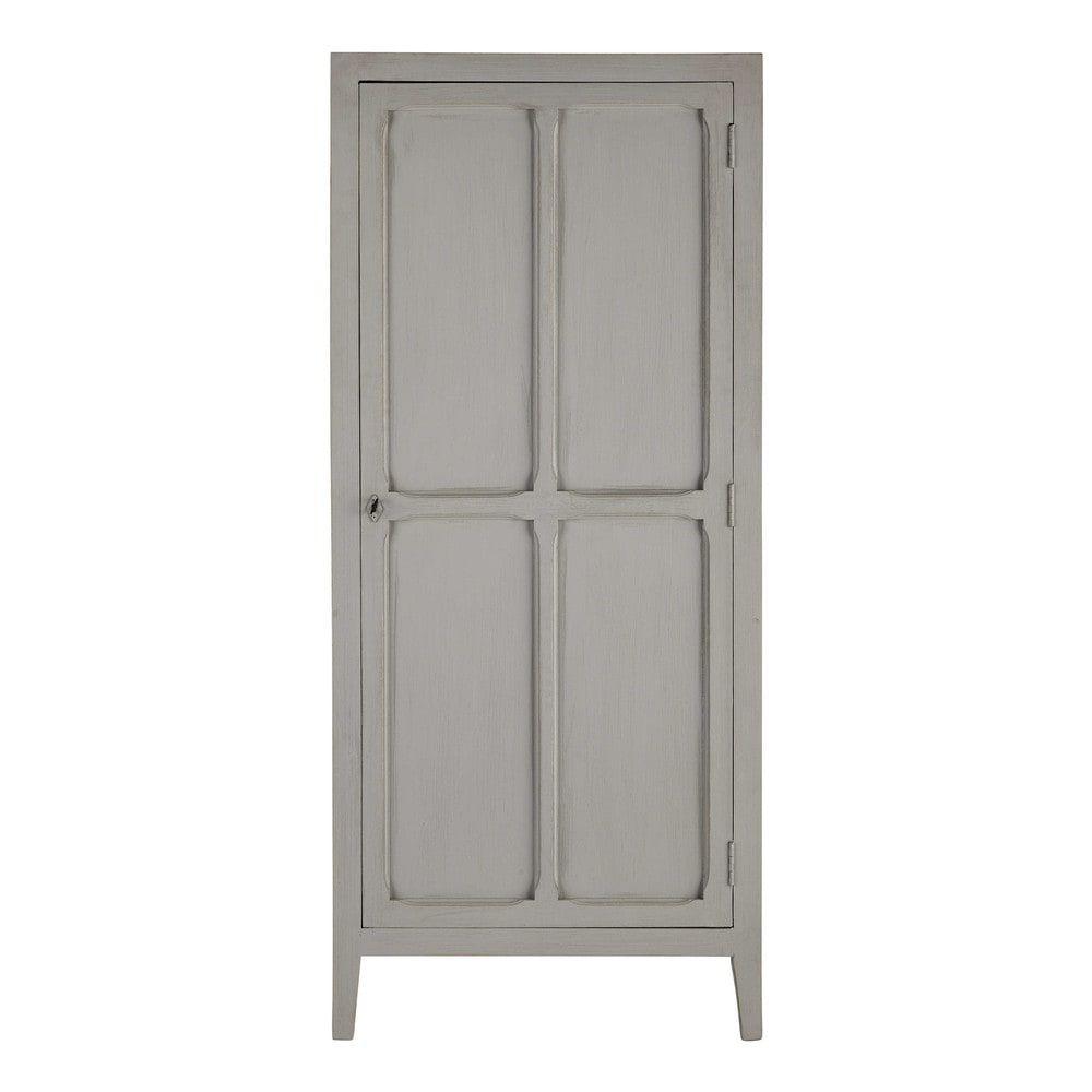 Armoire en manguier gris L 75 cm | Pinterest | Armoires, Bedroom ...