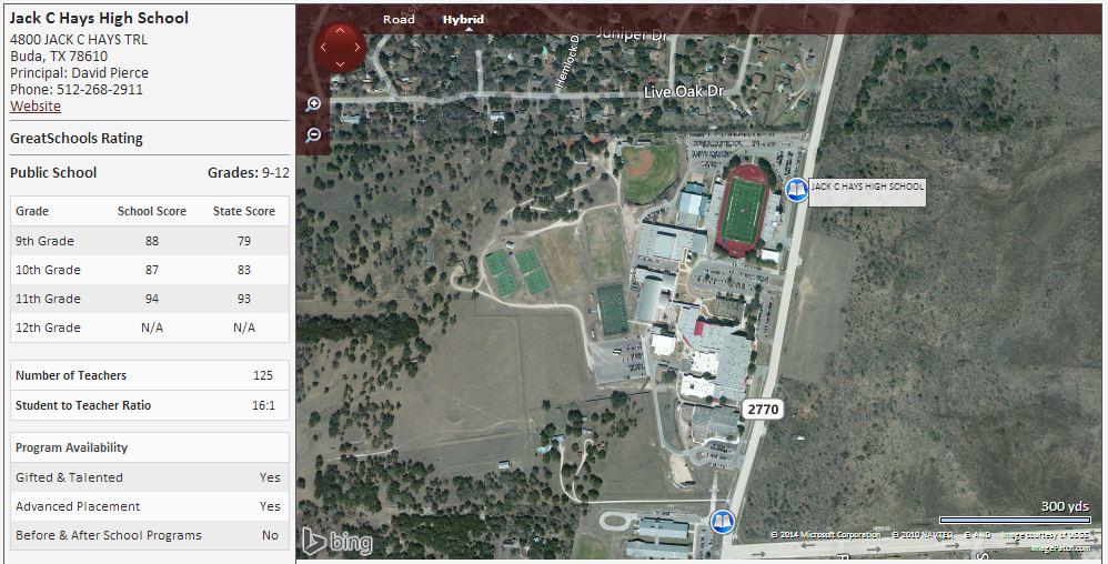 Map Of Texas High Schools.Homes Near Jack C Hays High School In Buda Texas Home Finders Of