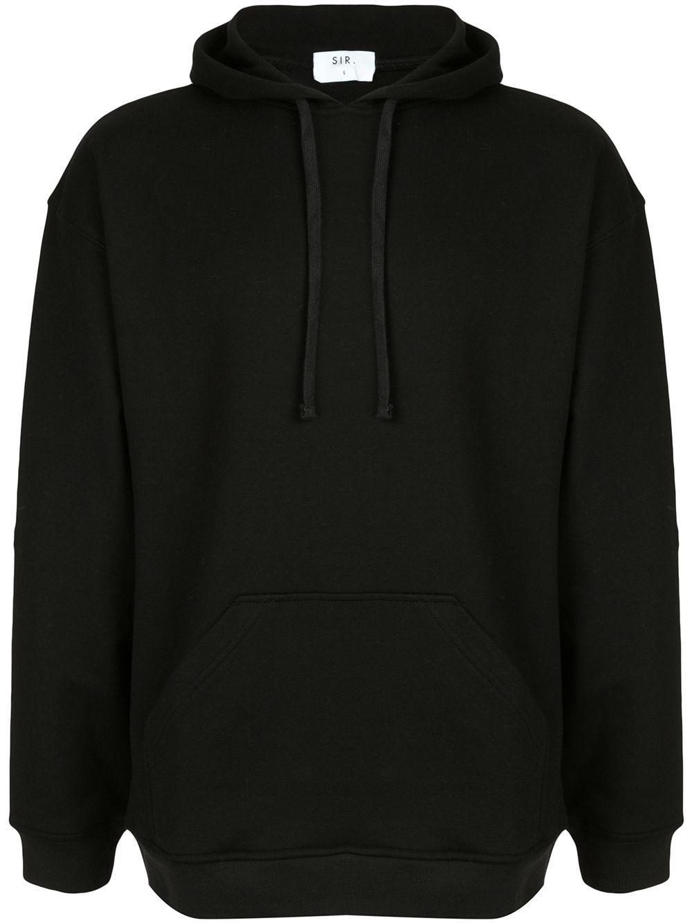 Sir Oversized Drawstring Hoodie Black In 2021 Plain Black Hoodie Black Hoodie Outfit Plain Black Sweatshirt [ 1334 x 1000 Pixel ]