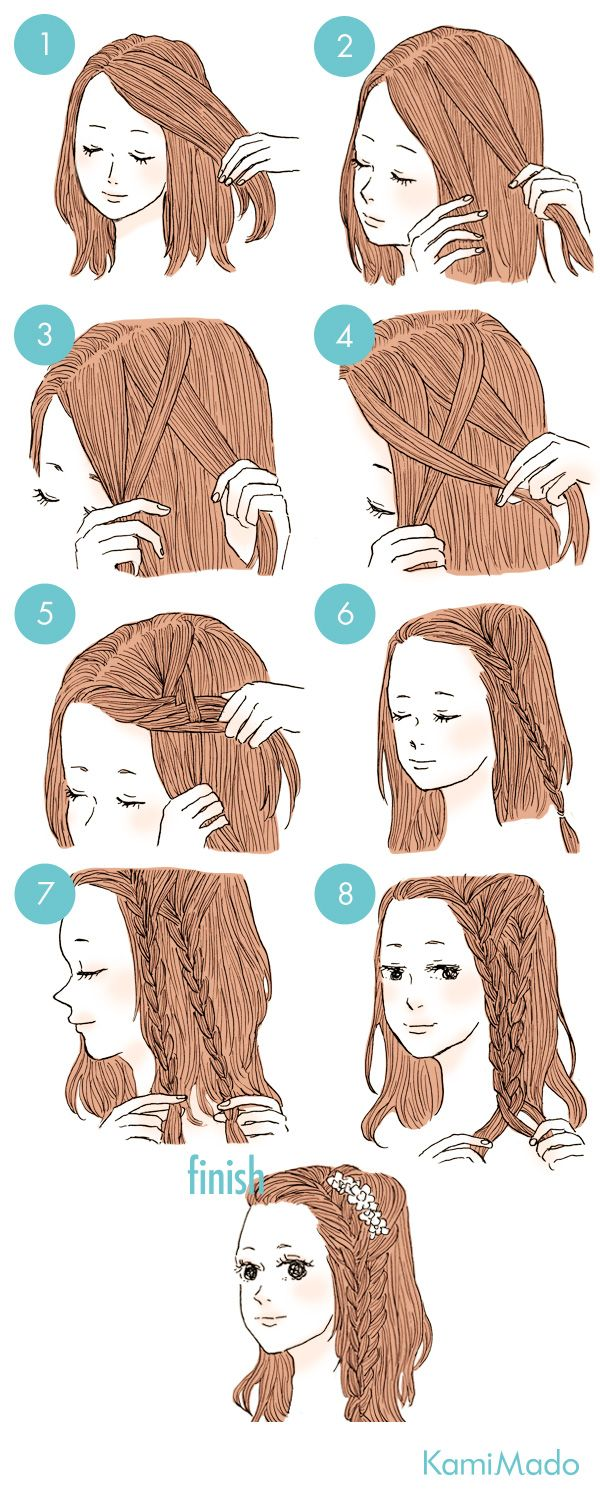 Pin by mabel on peinados pinterest hair style makeup and easy