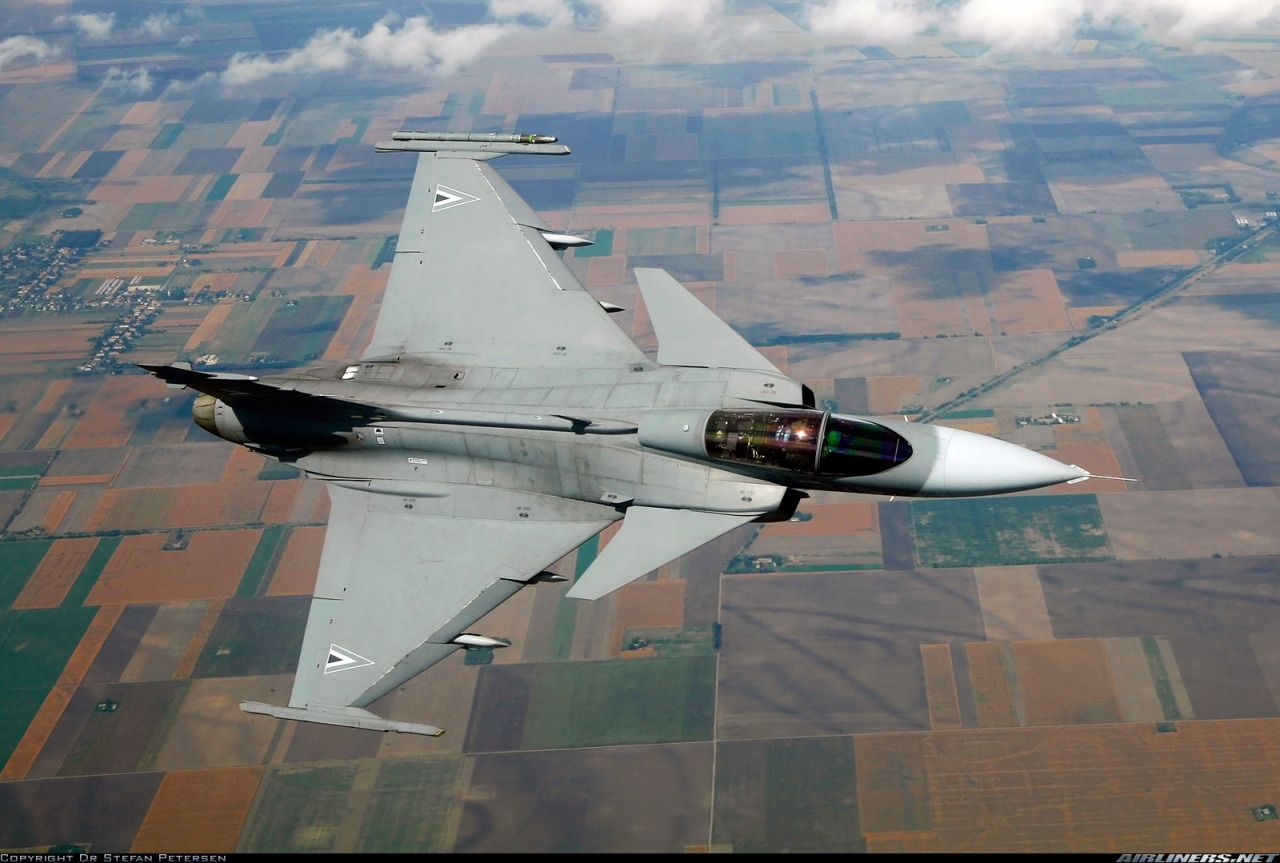"""helghasttactician: """"Saab JAS-39C Gripen of the Hungarian Air"""