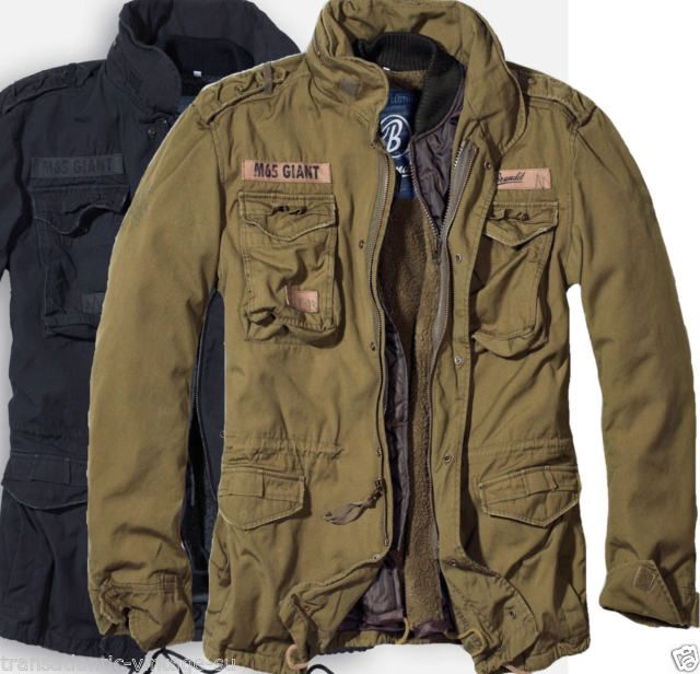 Photo of Brandit M65 2in1 Males's Jacket Winter Parka Military Navy Armed Forces Camo  | eBay