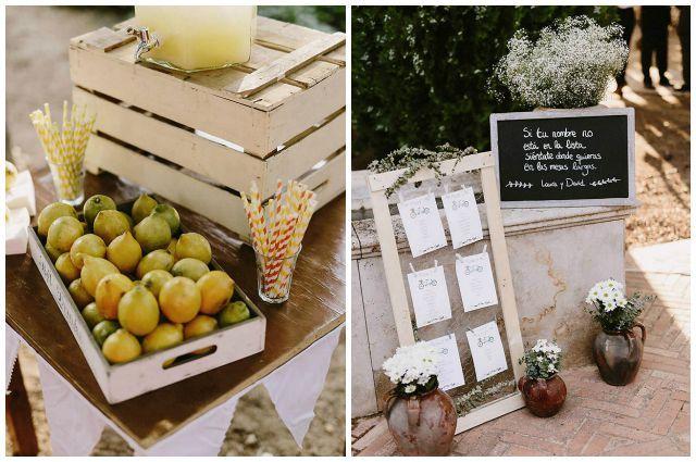 Laura y David, bonita boda rústica en Puertollano | AtodoConfetti - Blog de BODAS y FIESTAS llenas de confetti