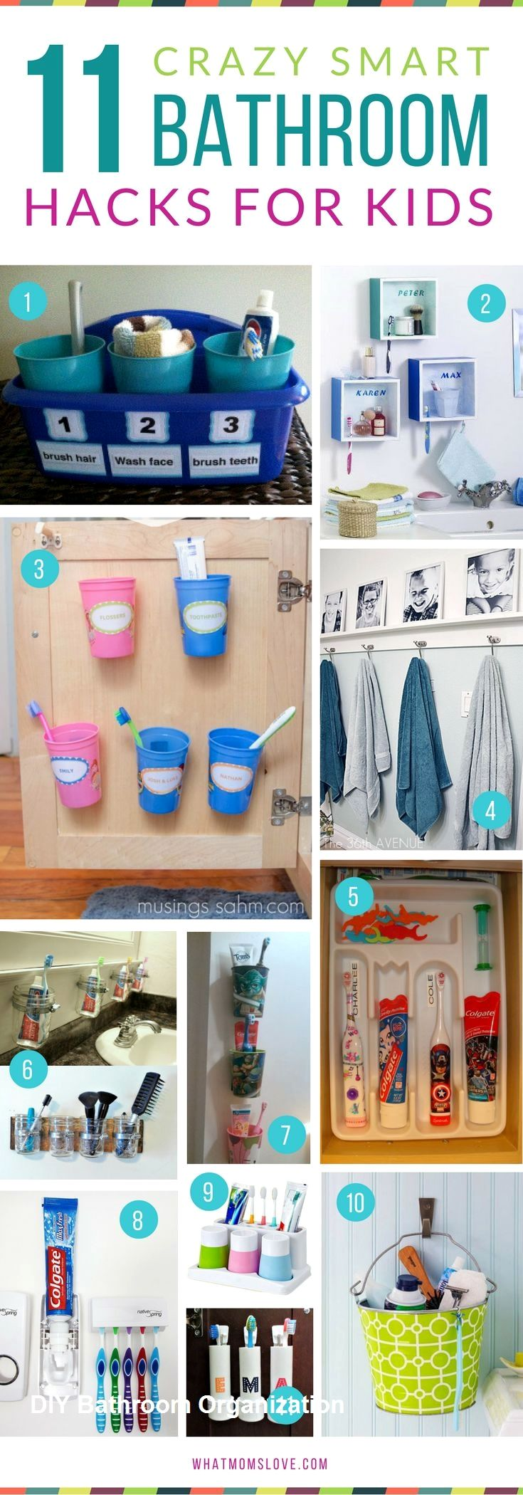 Diy Bathroom Organization Ideas
