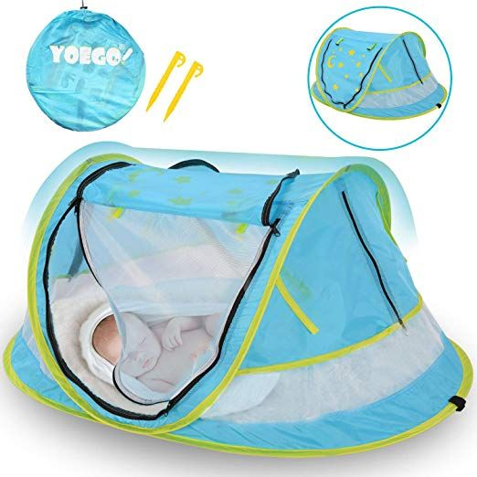 Baby Beach Tent,〠New Version】 Yoego Baby Pop-Up Travel ...