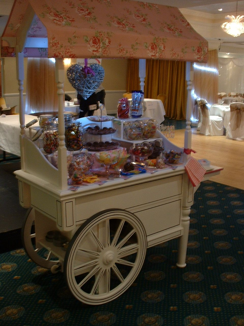 Wagon Cart Buffet ~ The candy cart i want one carts