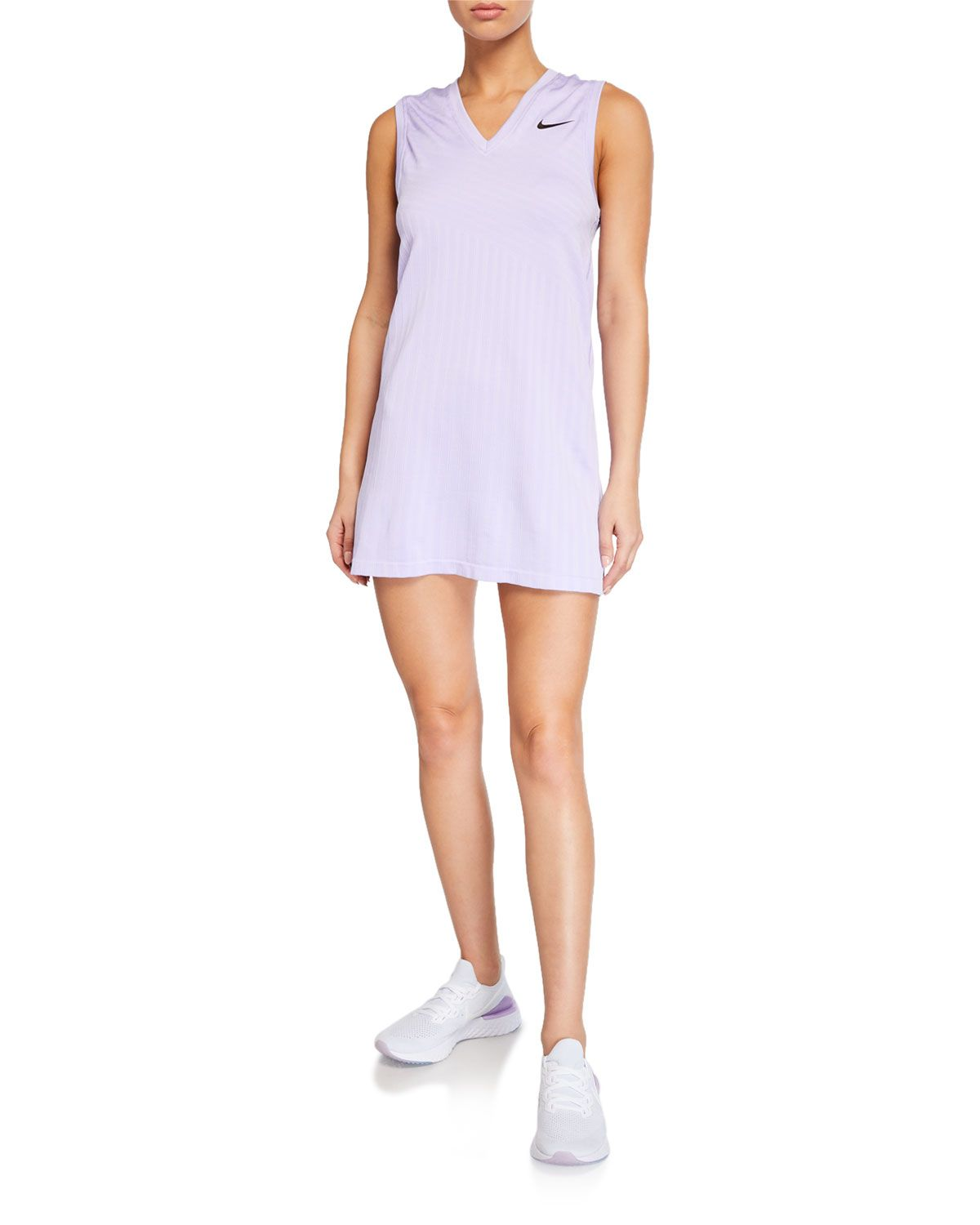 Nike X Maria Sharapova Knit V Neck Tennis Dress Nike Cloth Nike Tennis Dress Tennis Dress Sharapova Tennis Dress