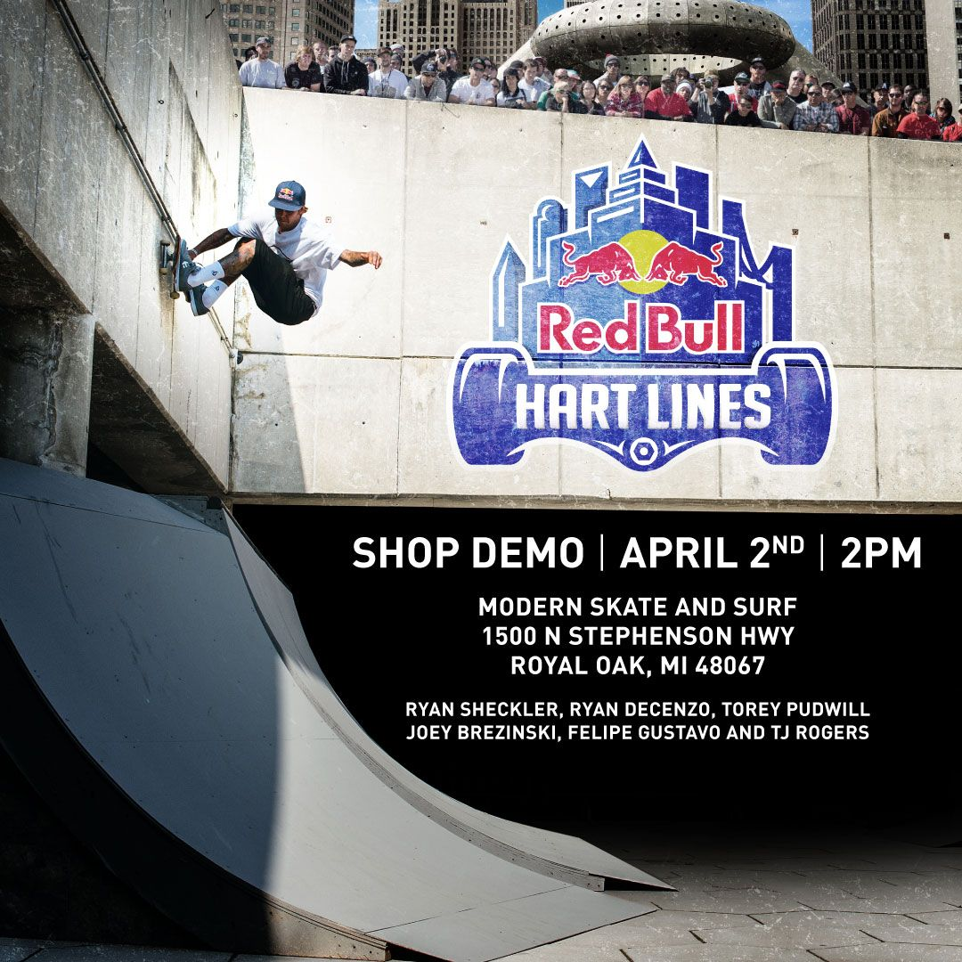 Come Meet Ryan Sheckler Torey Pudwill Felipe Gustavo Tj Rogers And Ryan Decenzo At Modern Skate Park On April 2 2016 Am Riders Skate Park Surfing Skate