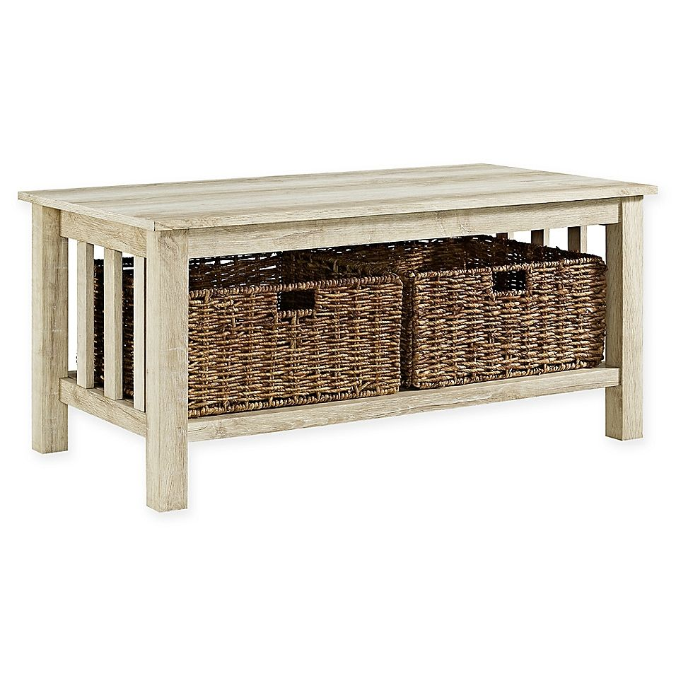 Forest Gate 40 Inch Contemporary Wood Coffee Table With Totes Coffee Table Farmhouse Rustic Coffee Tables Coffee Table Wood [ 956 x 956 Pixel ]