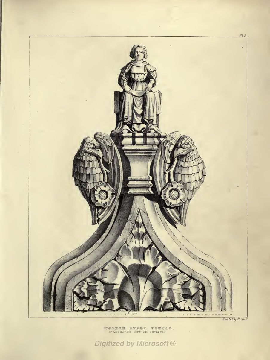 Gothic Ornaments Selected From Various Ancient Buildings Both In England And Franc During The Years