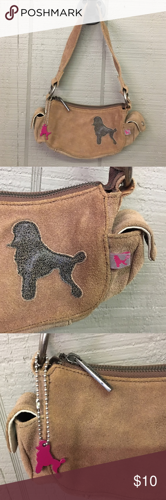 Poodlebag From Germany Brown Leather Accessories Bags