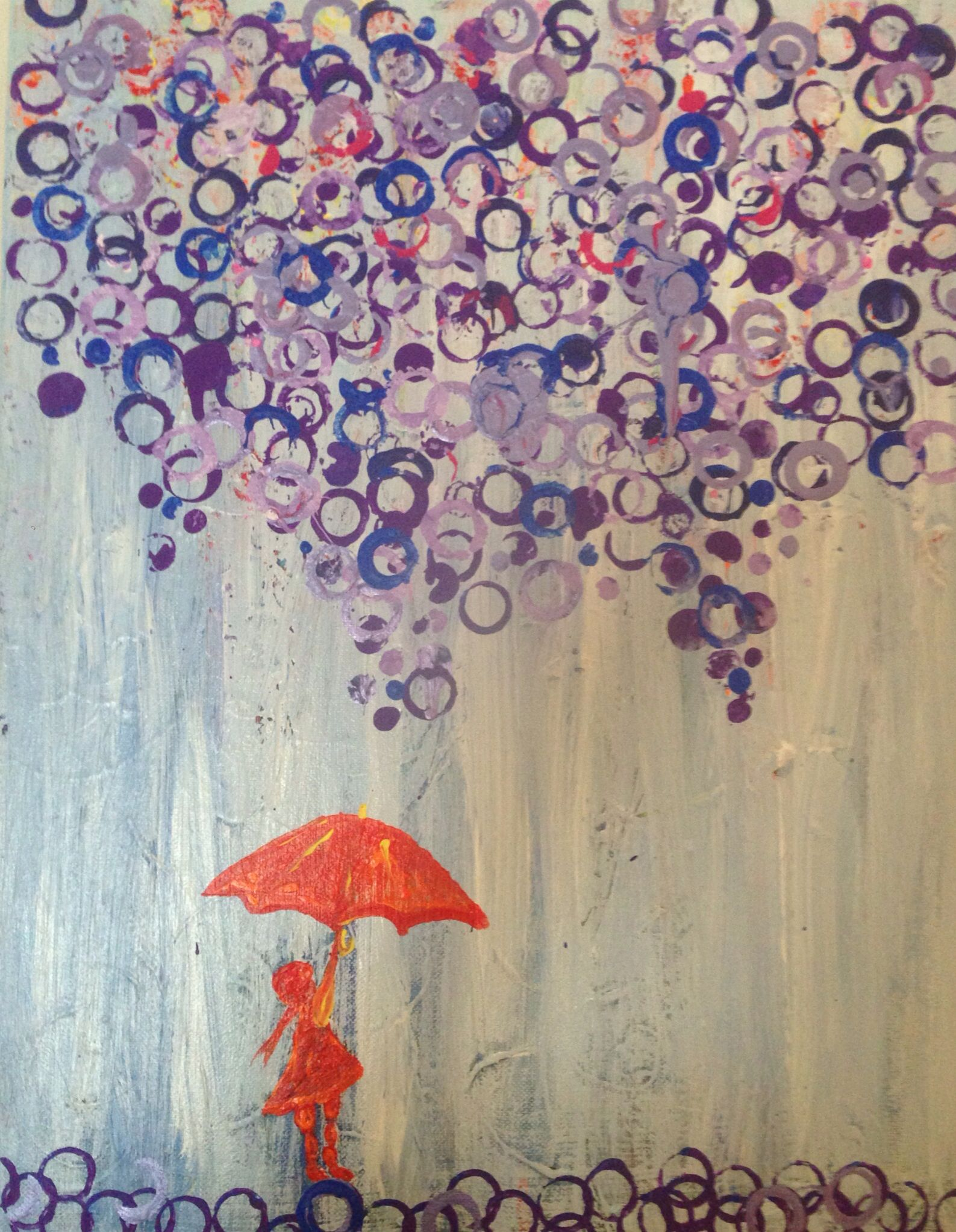 """""""Purple Rain"""" Artist: Mert Wray"""