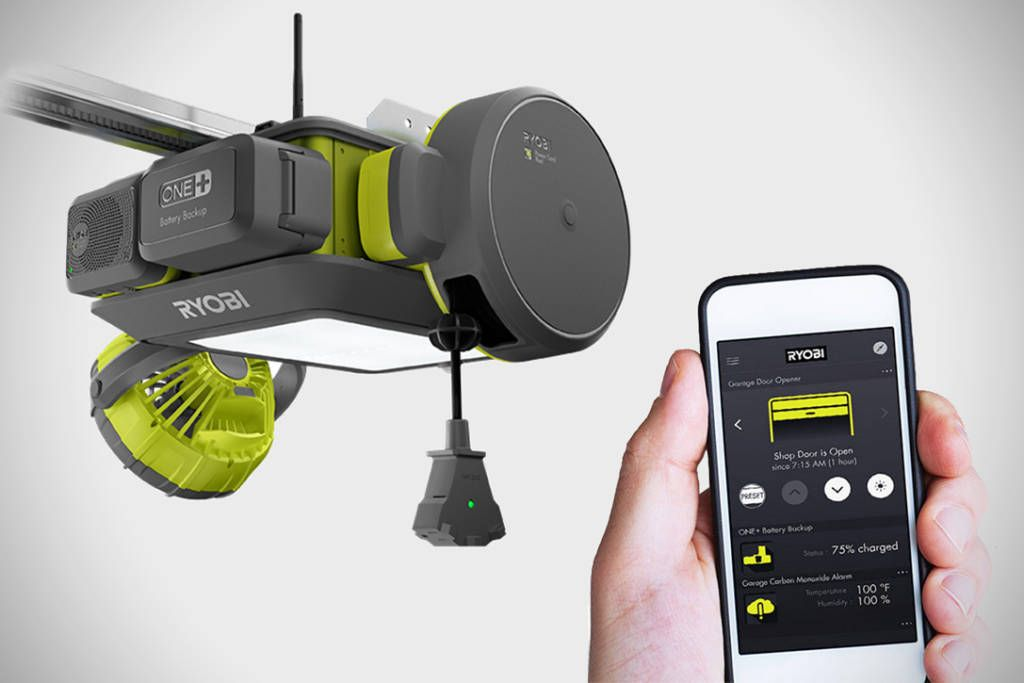 Modern Ryobi GD200 Garage Door Opener Module System Review The garage door opener market now has a new name to contend with Ryobi What they ve done with their Style - Lovely garage door reviews
